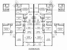 duplex house designs floor plans southern heritage home designs duplex plan 1392 d