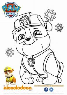 bilder zum ausmalen paw patrol coloring pages for
