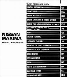 car maintenance manuals 1994 nissan maxima navigation system 1994 nissan maxima repair shop manual original