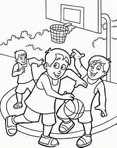 malvorlagen kinder sport basketball ausmalbilder zum ausdrucken malvorlagen f 252 r