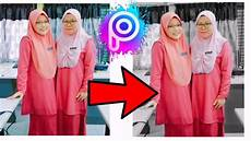 Cara Edit Foto Background Hitam Putih Picsart