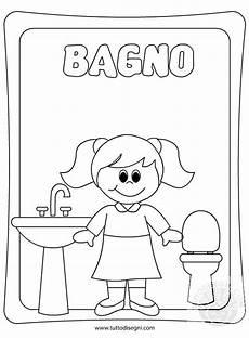 disegno bagno cartello porta bagno femmine tuttodisegni