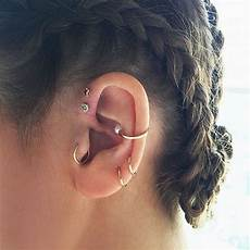 piercing helix et tragus 80 layered rook piercings to accessorize your ear