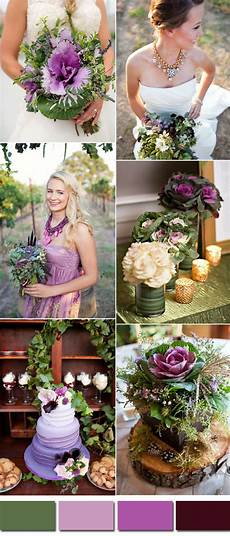 wedding ideas for spring purple kale green wedding color ideas for 2017 spring summer stylish wedd blog