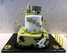 made baking harry s 4th birthday ben 10 cake