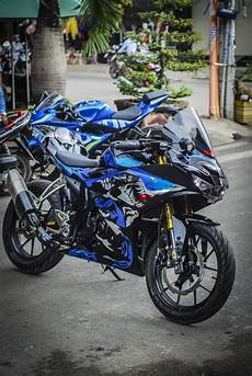 Modifikasi R 150 by Modifikasi Gsx R150 Terpasang Sok Usd Ohlins Aripitstop