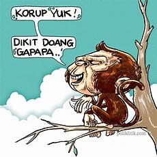 27 Gambar Kartun Wajah Monyet Gambar Kartun Ku