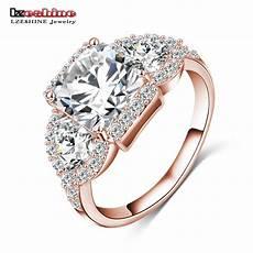 aliexpress com buy lzeshine 2018 new wedding rings gold silver color inlay zircon