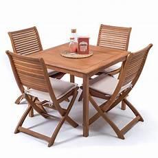 tavoli per esterni set giardino legno 90x90 cm con tavolo quadrato 4 sedie
