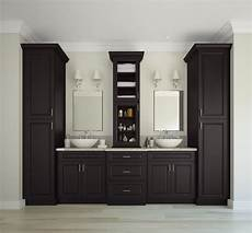 dakota espresso pre assembled bathroom vanities the rta store