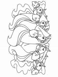 horseland coloring pages free printable horseland
