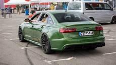 800hp Audi Rs6 Sedan With Pipes Loud Redline