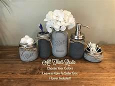 Buy Jar Bathroom Set by 16 Cool Handmade Jar Crafts That You Can Diy Style