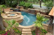 luxury backyards traditional pool by