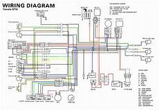 yamaha qt50 color coded schematic moped army