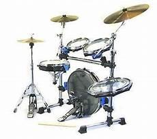 Traps Drums A400 Portable Acoustic Drum Set Kick Drum On
