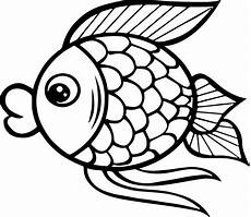big fish coloring page sheet