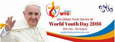 the oblate youth service register for world youth day 2016