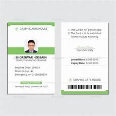 employee i card template 36 id card templates psd eps ai word