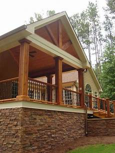 love the front porch and the stone traditional porch covered patio design pictures remodel
