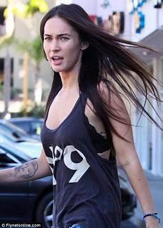 Megan Fox Ungeschminkt - megan fox no makeup war paint transformation megan fox