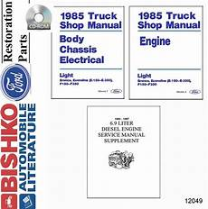 service and repair manuals 2005 ford f350 user handbook 1985 ford econoline bronco f100 f350 pickup shop service repair manual cd oem ebay