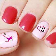 soccer football nail art stickers sporty nails australia