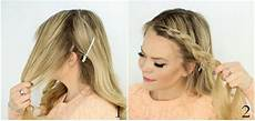 treccia attaccata alla testa laterale treccia olandese intorno alla testa tutorial le shiste