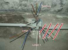 Wie Kann Ich Ein Stromkabel Lenkabel Abzweigen