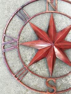 nautical wall art metal wall compass metal wall by camillacotton 76 95 nautical wall art