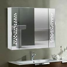 blowing bubbles look bathroom mirror cabinet led illuminated lights with socket ebay