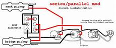 series parallel wiring diagram bass guitar pickups guitar design