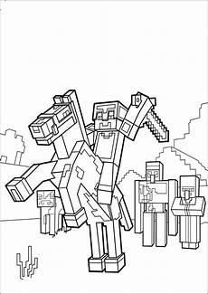 Malvorlagen Minecraft Drucken Ausmalbilder Minecraft 8 Malvorlagen Malvorlagen Pferde