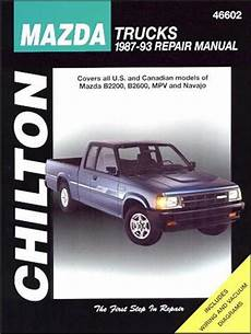 manual repair free 1992 mazda b series security system mazda trucks b2200 b2600 navajo mpv petrol 1987 1993 0801989647 9780801989643 chilton usa