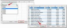 how to select specific worksheet based cell value another sheet in excel