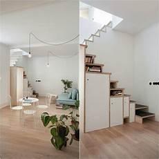 escalier pour petit espace escalier gain de place premier pas vers am 233 nagement petit