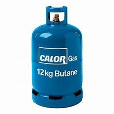 12kg Butane Gas Bottle Refill Calor Gas Cylinders