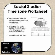 worksheets time zone activities 3275 time zone worksheet usa middle school social studies tpt