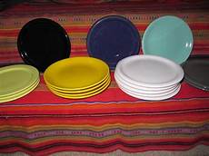 keramik teller bunt keramik teller fr 252 hst 252 cksteller unifarben bunt in