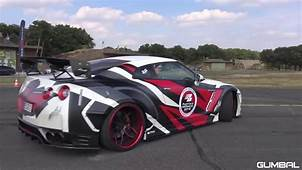 Prior Design Nissan GT R PD750 Widebody  Lovely Sounds