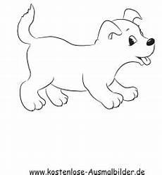 Ausmalbilder Hunde Welpe Ausmalbild Kleiner Welpe Zum Ausdrucken