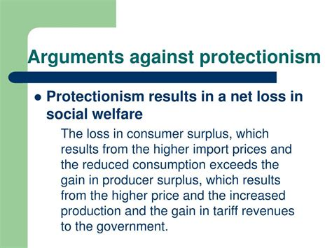 Arguments For Welfare
