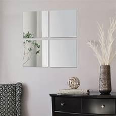 spiegel fliesen 4x spiegelfliesen 30cm quadratisch klebespiegel