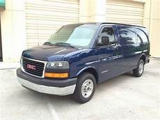 sell used 2004 gmc savana 2500 cargo van rare color and options low mies nice in stuart