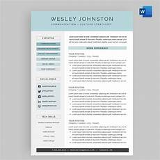 resume cv template package for microsoft word the