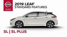 2019 nissan leaf review 2019 nissan leaf sl sl plus walkaround review