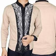jual baju koko kemeja muslim pria modern lengan panjang kkl 07 di lapak louhanesia galerioma