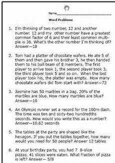 percent word problems worksheet 4th grade 11480 test your fifth grader with these math word problem worksheets math math word problems word
