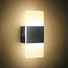 oenbopo led wall light bedside wall l modern acrylic led bedroom hallway bathroom wall ls