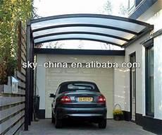 portable aluminum frame carport with polycarbonate roof view aluminum frame carport blue sky
